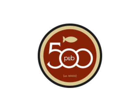 Pub 500 Logo Design - Branding Mankato