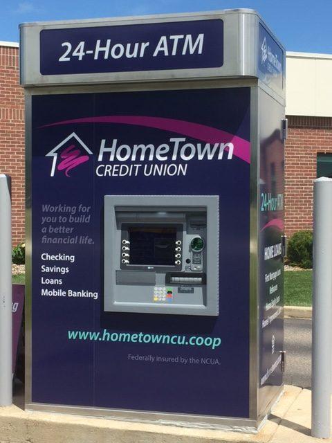 ATM Wrap Design and Installation - Mankato