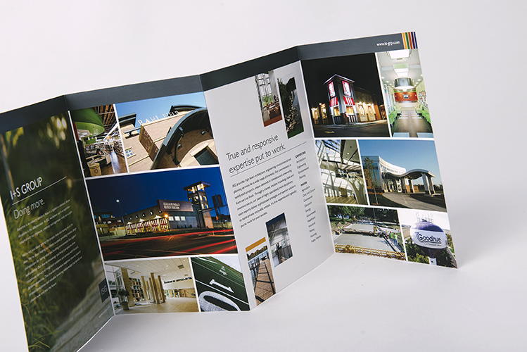 Marketing Materials - Brochure Design - ISG Mankato