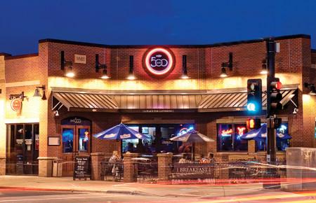 Business Exterior Sign Design - Pub 500 Mankato