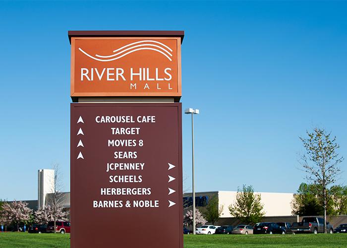 River Hills Mall Monument Sign Development - Mankato Minnesota