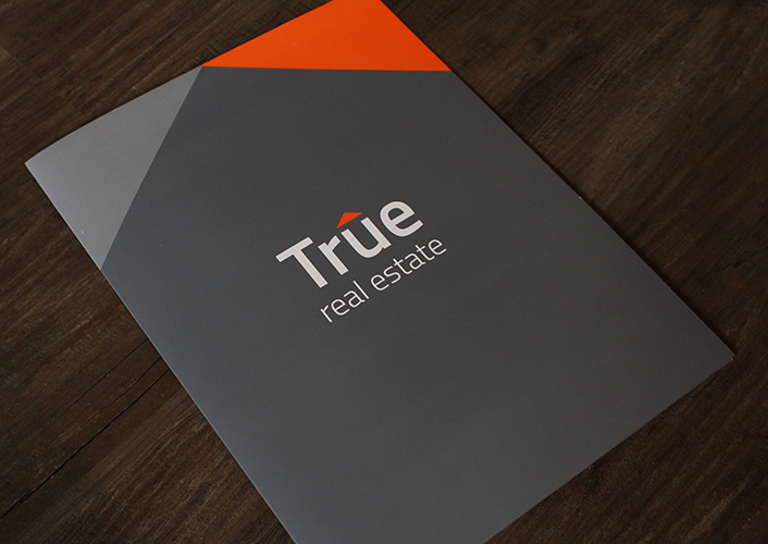 Brochure Design - True Real Estate