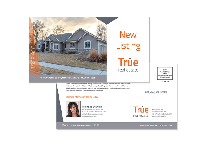 True Real Estate Direct Mail Campaign - PresenceMaker Marketing