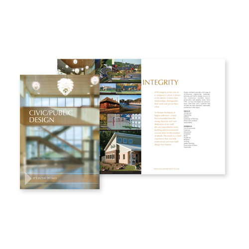 Marketing Material Design - ISG Mankato Brochures