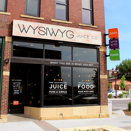 Exterior Business Sign Design - WYSIWYG Business Signage Design