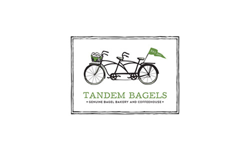 Logo Design & Branding - Tandem Bagel Logo
