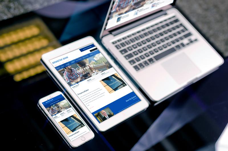 Website Design and Development Mankato - MinnStar Bank