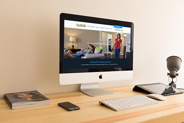 Ploog Electric Website - Website Design and Development