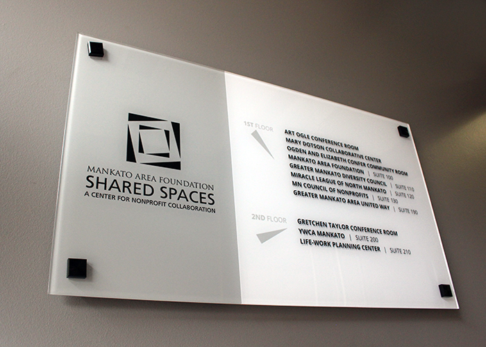 Interior Business Sign Design - Directional Signage