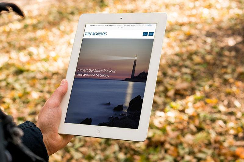 Title Resources Mankato Website Design