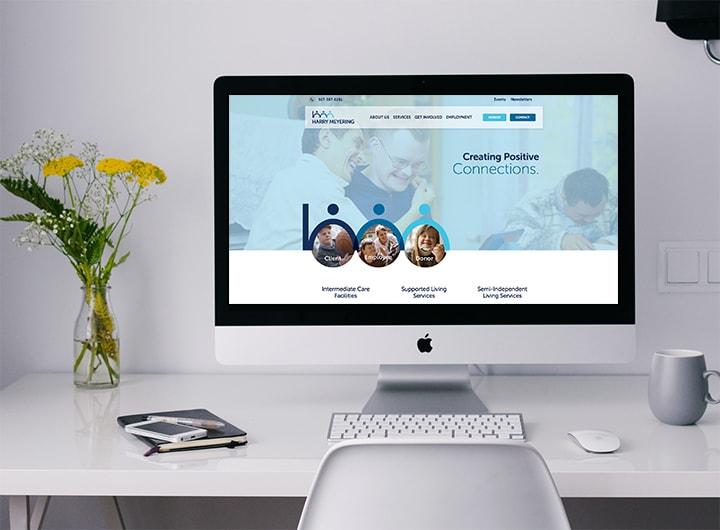 Web Design In Mankato - Harry Meyering Center Website