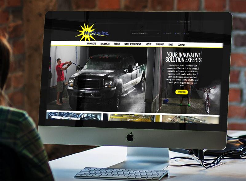 Website Design & Development - MyGuy, Inc. Website