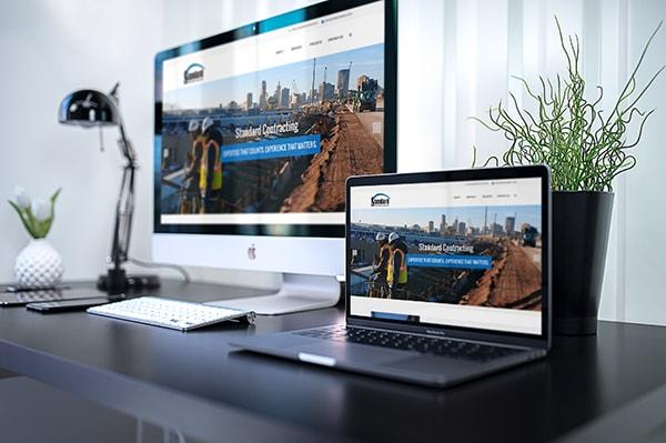 Website Design and Development - Standard Contracting Website