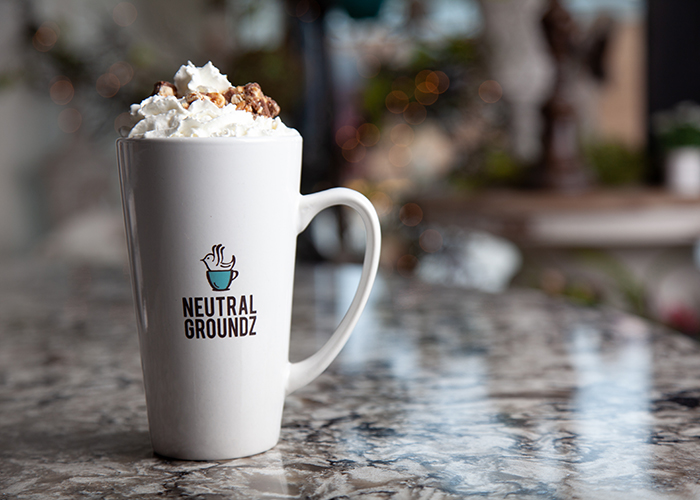 Neutral Groundz Branded Coffee Mug - PresenceMaker Marketing