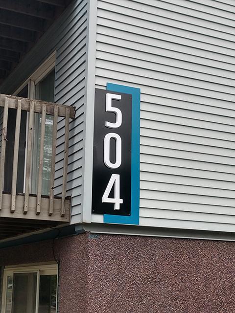Exterior Building Signage - Design