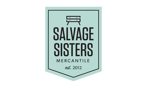 Salvage Sisters Mankato Logo - Branding Mankato