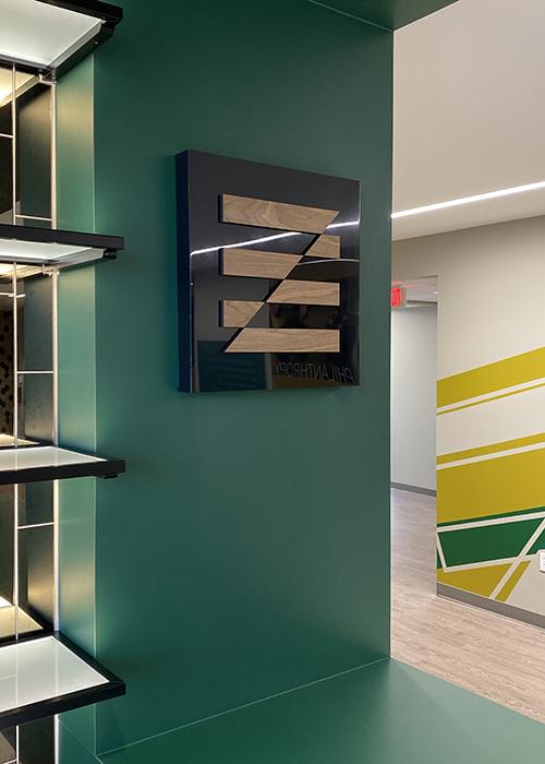 Pioneer Bank Interior Sign Design and Installation