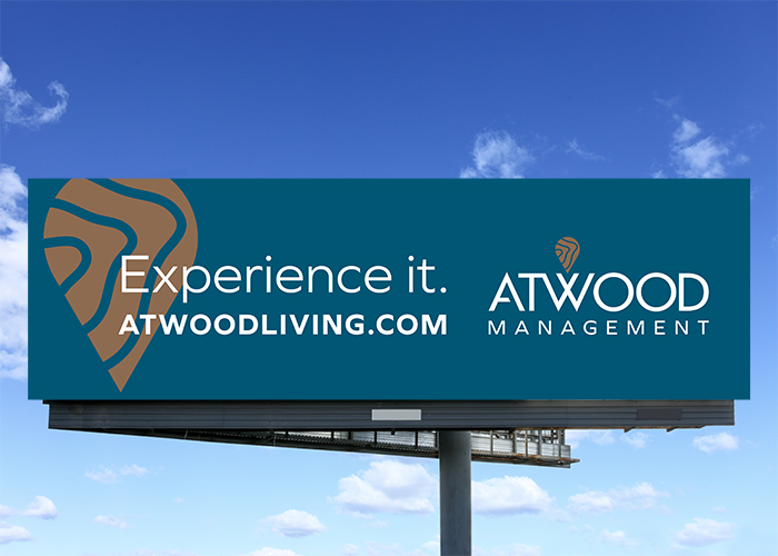 Atwood Property Management Billboard design